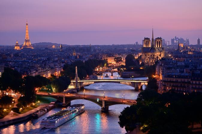 Eiffel Tower Evening Sunset Tour With Seine River Cruise  Paris  Viator