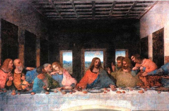 Evite as filas: Excursão a pé para grupos pequenos por Milão com ingressos para a Última Ceia de Leonardo da Vinci