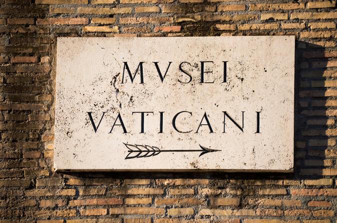 Excursão para grupos pequenos, com acesso antecipado aos museus do Vaticano e à Basílica de São Pedro e Capela Sistina