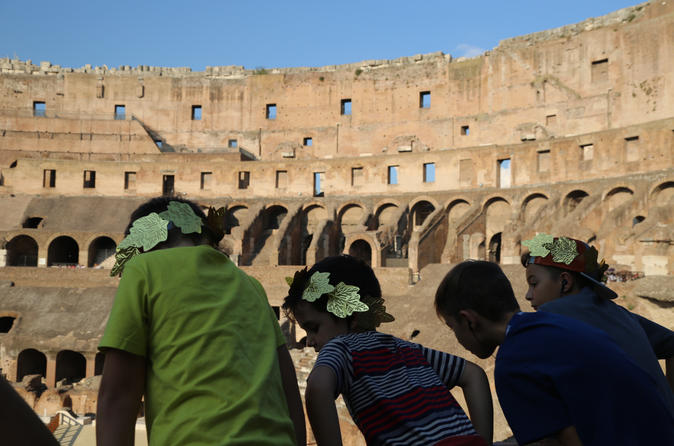 Family Combo: Vatican Museums Highlights and Colosseum for Kids with Skip the Lines