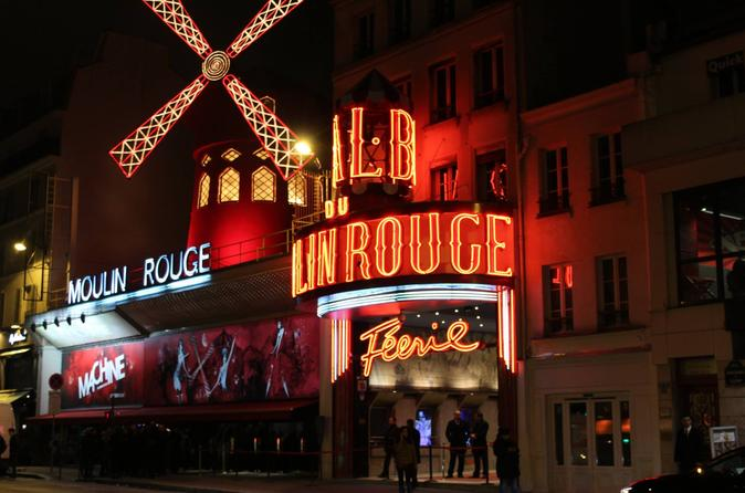 Moulin Rouge Show with Skip the Line Eiffel Tower and Seine River Cruise