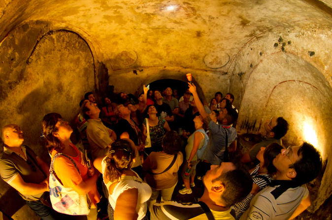 Naples Catacombs and Crypts Underground Walking Tour