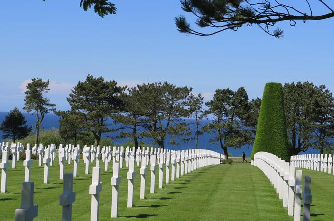 Normandy D-Day Landing Beaches Tour including Omaha Beach, Cider Tasting and Lunch