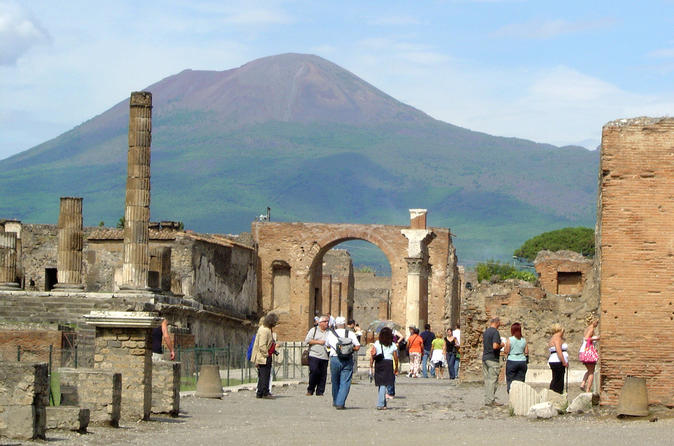 Pompeii Express Tour from Rome by High-Speed Train