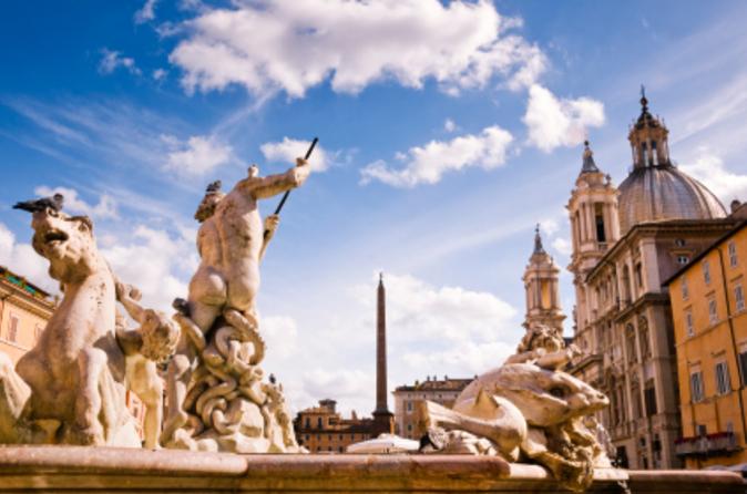 Roma super econômica: Coliseu e Roma Antiga com a melhor excursão vespertina à pé por Roma