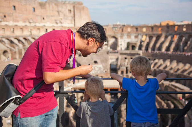 Skip the Line: Family-Friendly Colosseum and Ancient Rome Tour