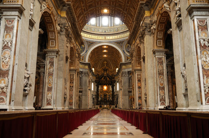 Skip the Line Vatican Museums Walking Tour with German-Speaking Guide: Sistine Chapel and St Peters Basilica