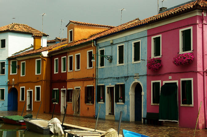 Venice Shore Excursion: Murano Glass and Burano Lace Tour