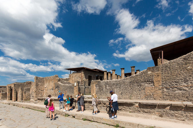 Viagem diurna a Pompeia e Mt Vesúvio, saindo de Roma