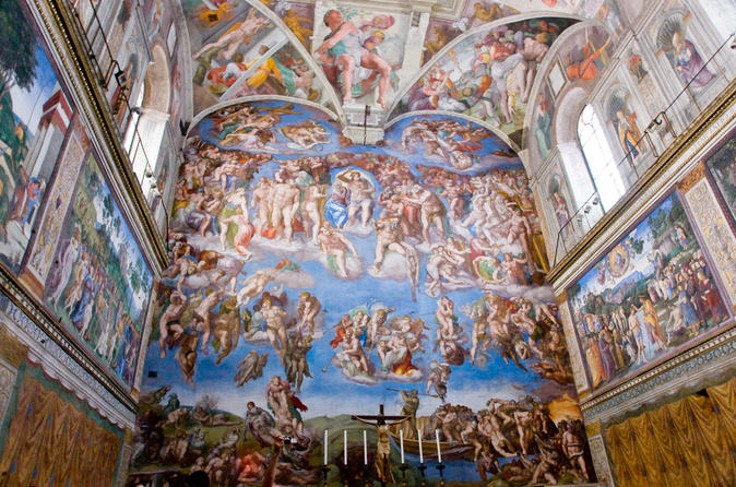 Viator vip sistine chapel private viewing and small group tour of the in rome 505111