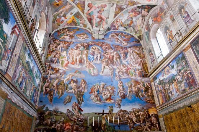 Vatican Sistine Chapel VIP access