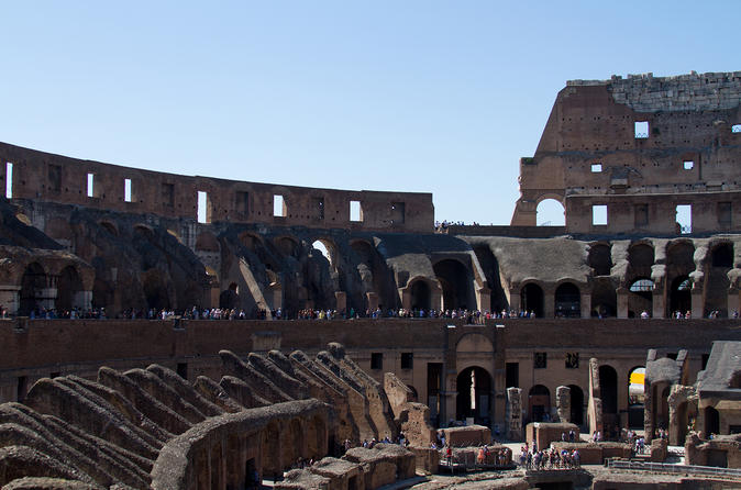 VIP Colosseum Express Tour: Forum-View Breakfast With Gladiators Entrance And Arena Floor - Rome
