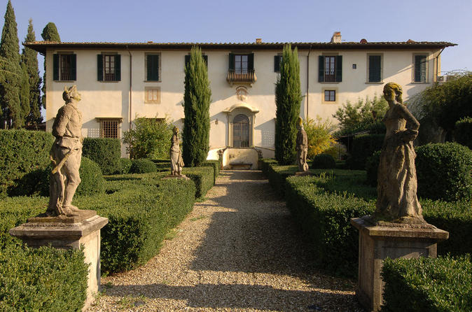 Wine tasting and dinner at a private tuscan villa from florence in florence 158818