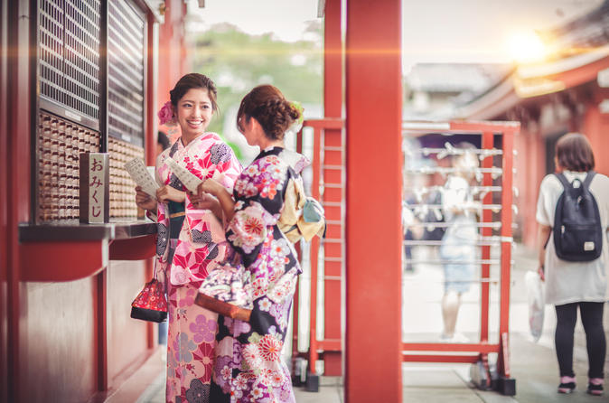 Japanese Cultural Experience - Kimono Plan in Tokyo