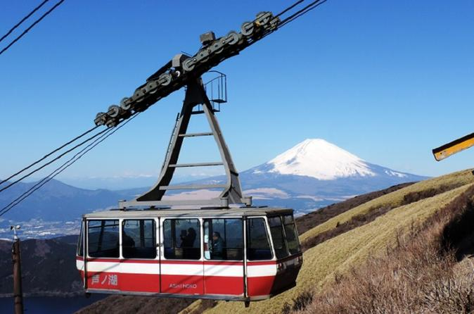 Private Chartered Taxi Tour to Hakone from Tokyo