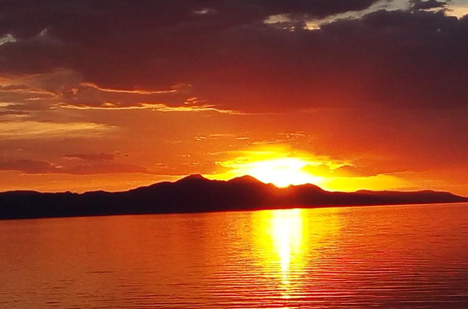 2-Hour Sunset Viewing at the Great Salt Lake Tour from Salt Lake City