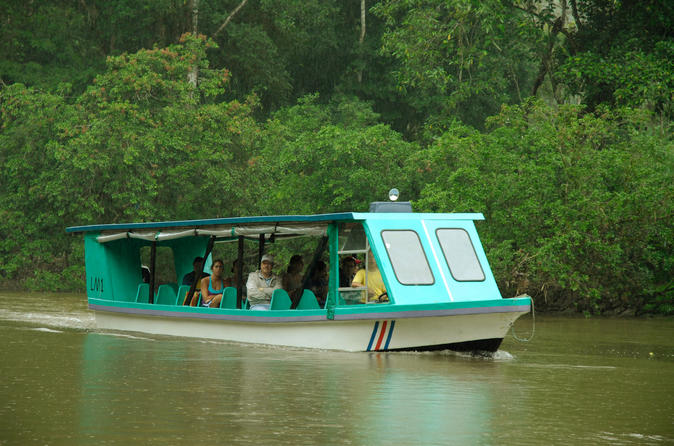 Sarapiqui River Boat Tour and Zipline Adventure