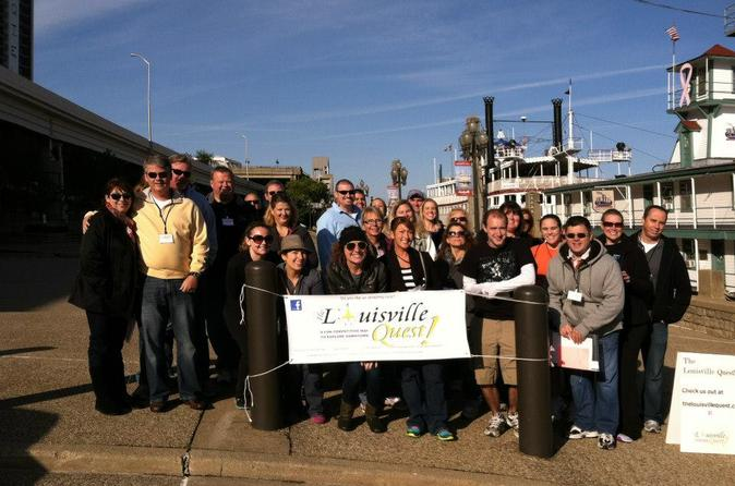 Louisville Scavenger Hunt Combined With Sight-seeing Tour And Race