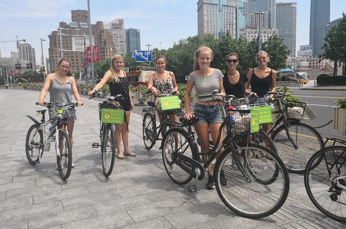Half Day Shanghai Must See Bike Tour