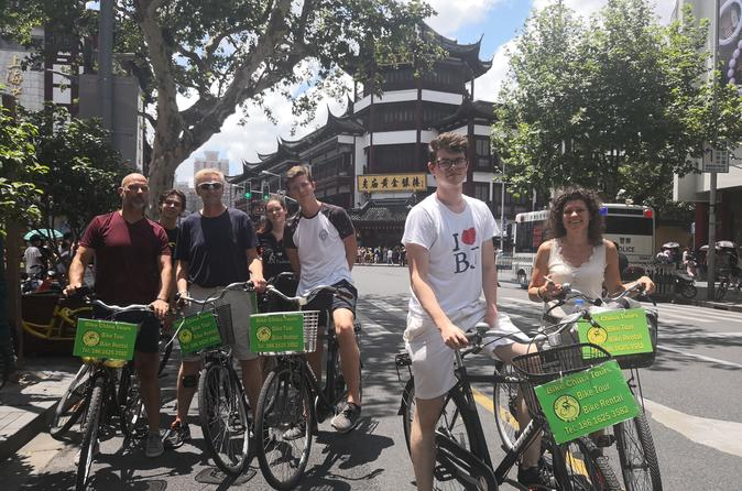 Traditional Chinese Massage and City Overview Bike Tour With Lunch