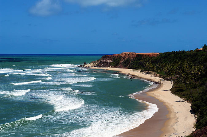Full-Day Tour to Pipa Beach from Natal, Brazil