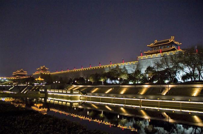 2-Hour Xi'an Private Night Walking Experience Along City Wall - Xian