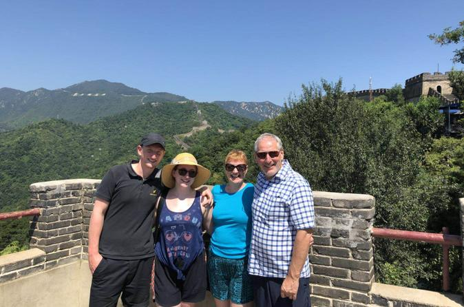 Private Beijing Layover Tour to Mutianyu Great Wall, Forbidden City, Tiananmen Square