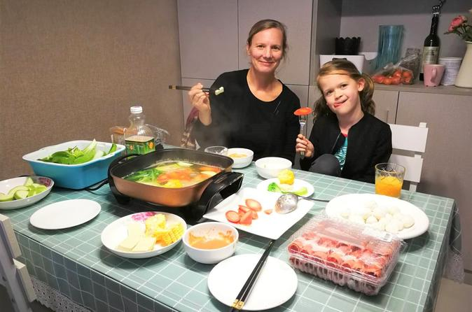 Private Beijing Local Family Home-made Style Hot Pot Cooking Experience