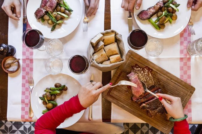 Bouchon Restaurant Dining Experience at Aux Lyonnais by Alain Ducasse