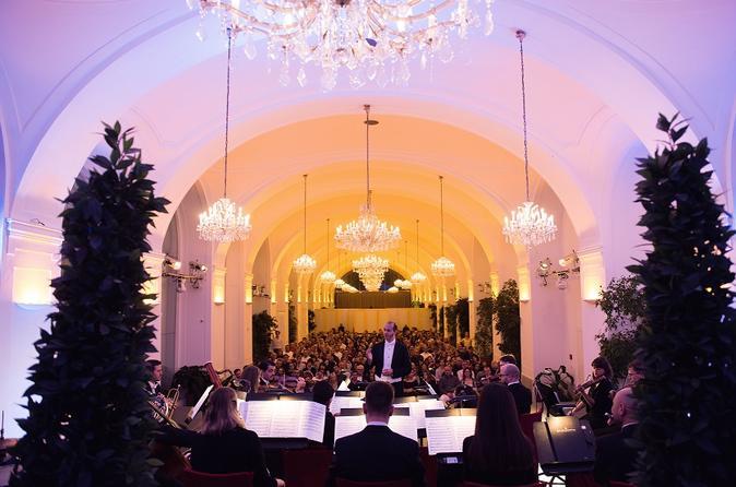 Uma noite no Palácio Schönbrunn: excursão no palácio, jantar e concerto