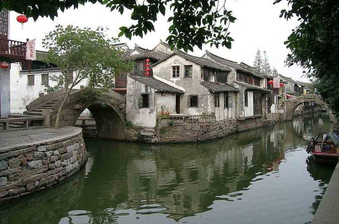 Zhouzhuang and Shanghai in One Day with Lunch