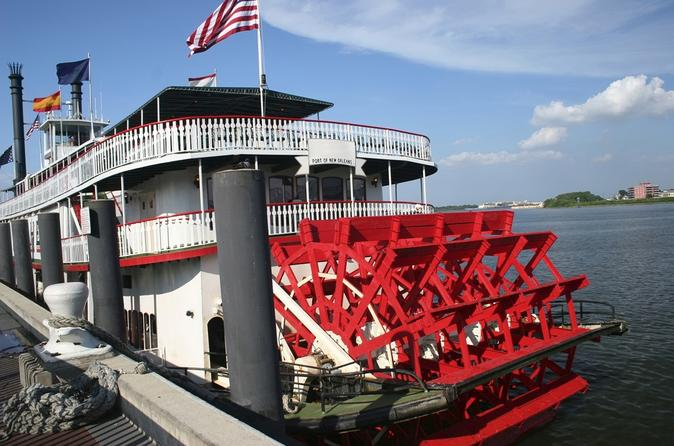 Steamboat natchez harbor cruise in new orleans 125447