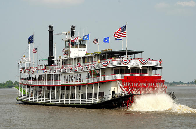 Steamboat natchez jazz brunch cruise in new orleans in new orleans 144115