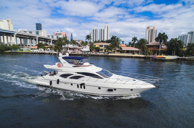 62' Azimut Boat Rental with Jet Ski in Miami