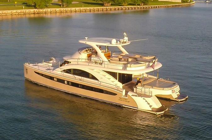 62' Power Cat Boat Rental in Miami