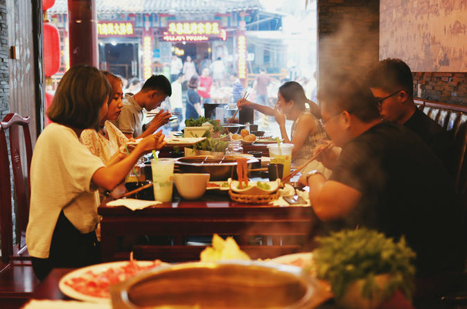 Sichuan Hot Pot Dinner with Shanghai Cuisine Tasting