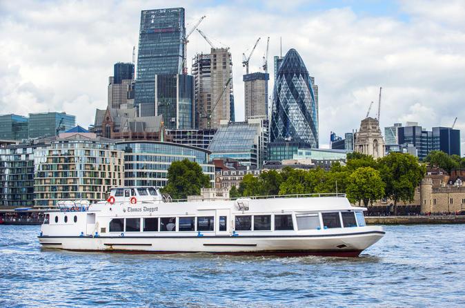 Cruzeiro turístico pelo Tâmisa de Westminster a Greenwich