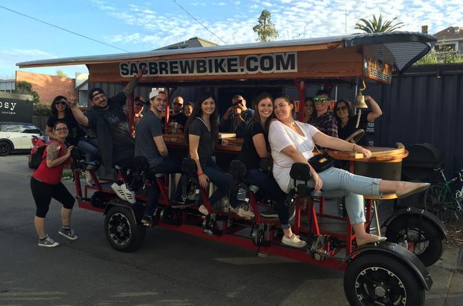 Sac brew bike tour in sacramento 341780