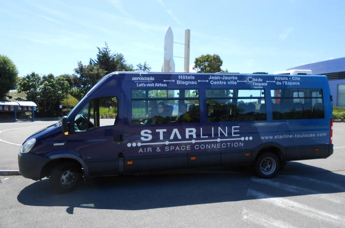 Starline Transfer to Cite de l'Espace from Toulouse City Center