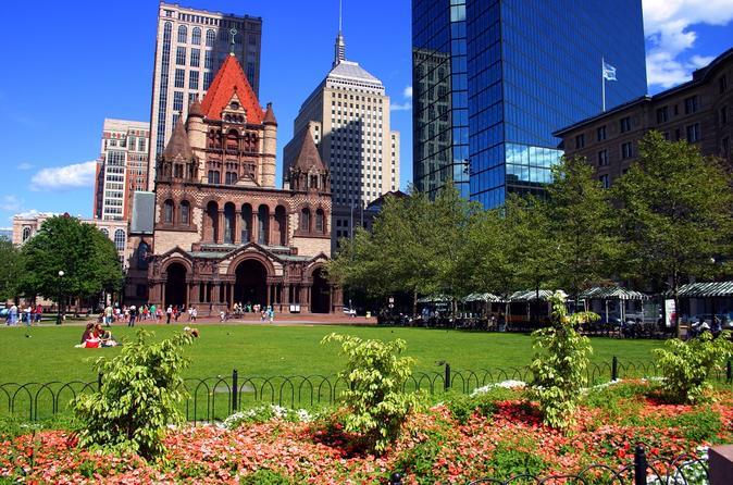 Excursão a pé pela Boston Freedom Trail até a Copley Square
