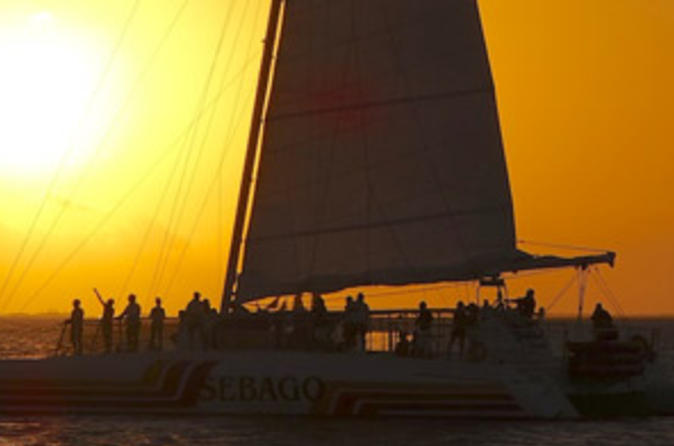 Key west sunset champagne cruise in key west 207330