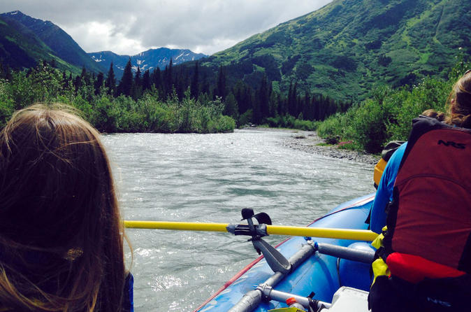 3-hour Turnagain Pass Rafting Float Trip from Hope Alaska