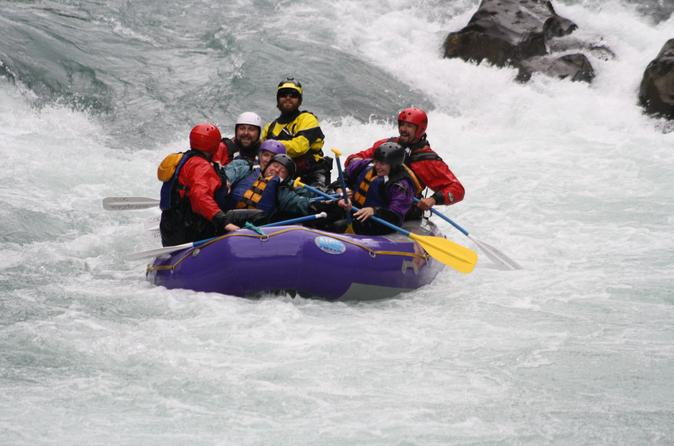 Half-Day Three Canyon Six Mile Creek Whitewater Rafting