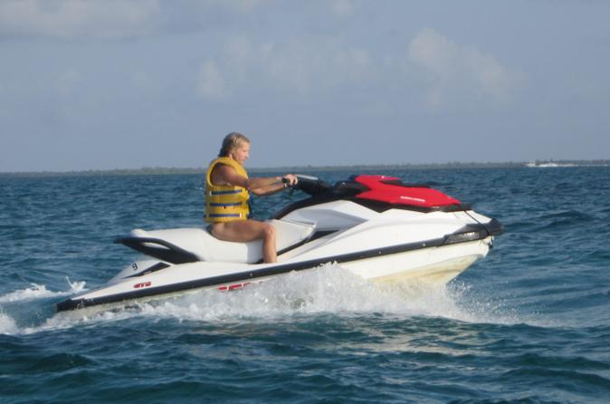 Grand Cayman Shore Excursion: Jet Ski Tour to Stingray City