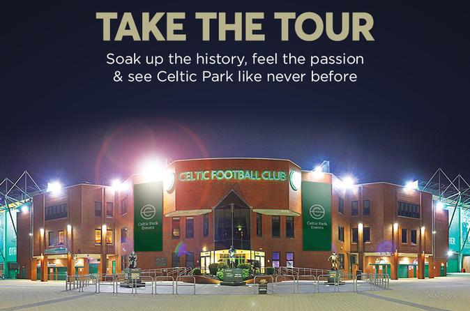 Excursão guiada pelo estádio Celtic Park