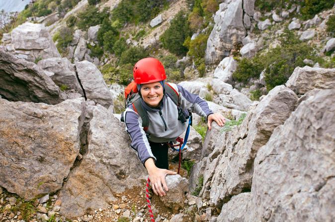 Banff via ferrata climbing adventure in banff 170489