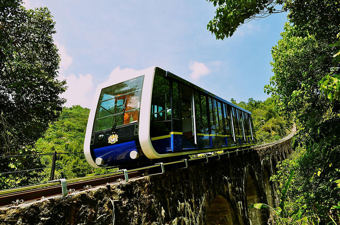 Penang City & Temple Tour With  Penang Hill Tickets