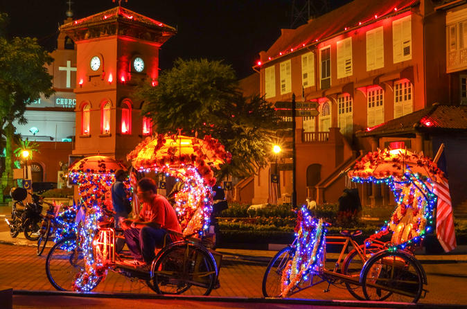 Penang Night Tour With Trishaw Ride And Dinner - Penang Hill