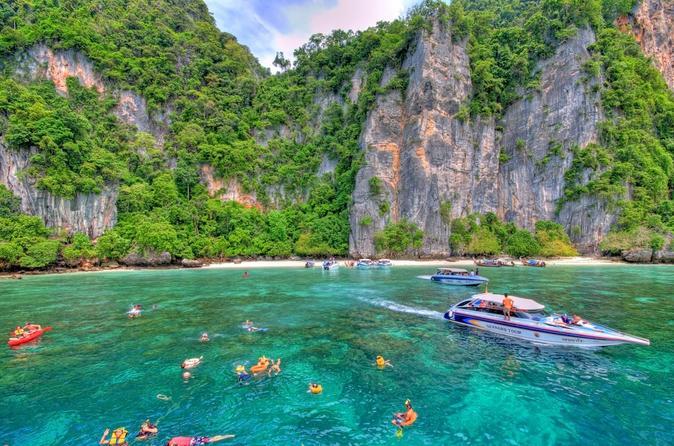 Ausflug zu den Phi-Phi-Inseln