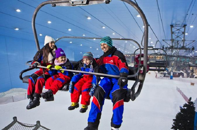 Polar Express Ski Egypt Africa s first and only Indoor skiing